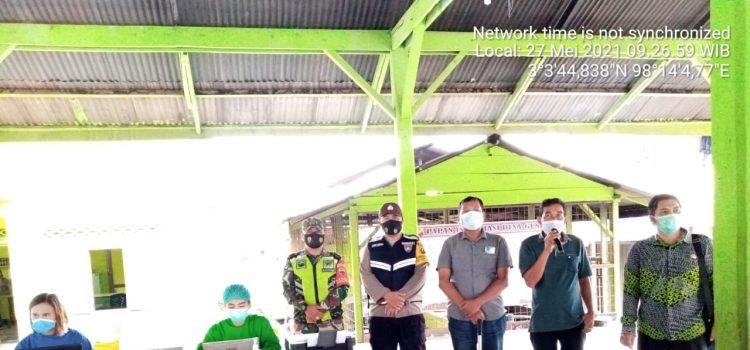 Seratus Dua Puluh Lansia Kecamatan Tigabinanga Terima Vaksin Tahap Pertama