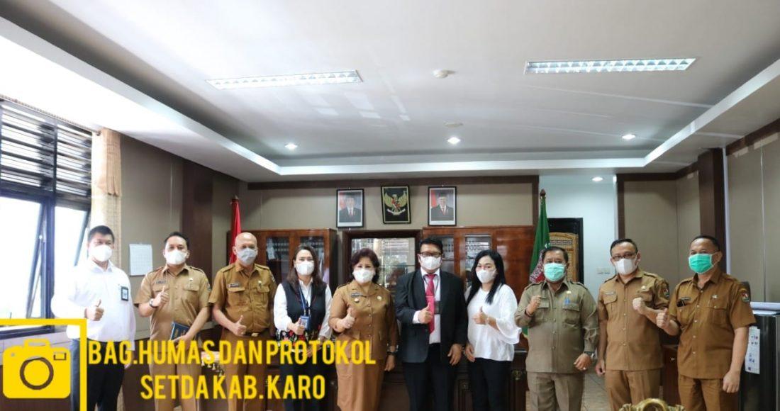 Cory S Sebayang Menerima Kunjungan Kepala Kantor Wilayah Direktorat Jenderal Perbendaharaan Provsu
