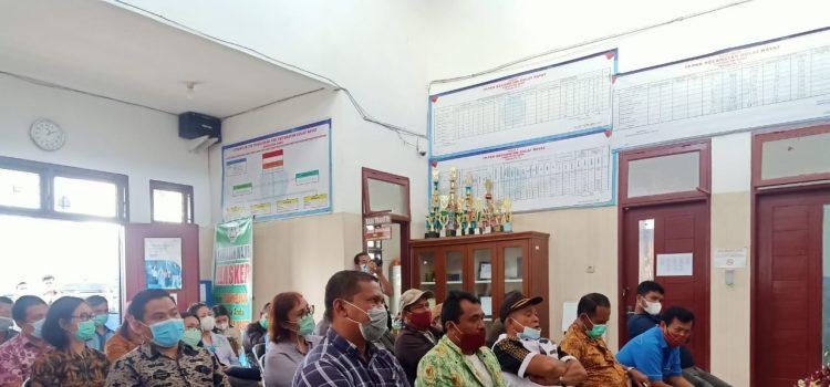 Danramil 02/TP Hadiri Rapat Koordinasi dengan Wakil Bupati Karo