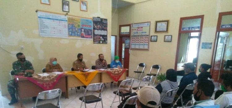 Bati TUUD Koramil 05/PY Hadiri Pembentukan Satgas Covid19 Desa di Kecamatan Payung