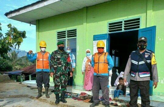Babinsa Koramil 07/JH Lakukan Pengamanan Serta Himbauan Kepada Jamaah Shalat Idul Adha