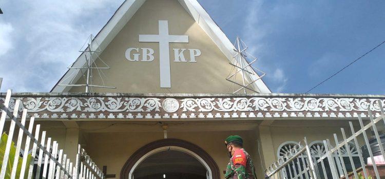 Babinsa Koramil 08/TB Lakukan Patroli Prokes di Kelurahan Tiga Binanga