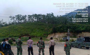 Tim Gabungan TNI-Polri dan Dinas Terkait Terus Lakukan Pantauan Terhadap Kebakaran Lahan