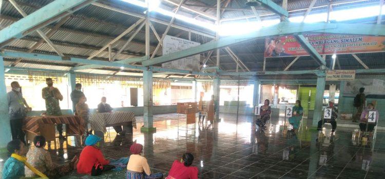 Bati TUUD Koramil 05/PY Hadiri Musyawarah Pemilihan Anggota BPD Desa Rimokayu