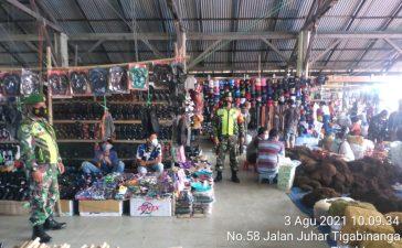 Babinsa Koramil 08/TB Terus Lakukan Himbauan Kepda Warga Untuk Patuhi Prokes