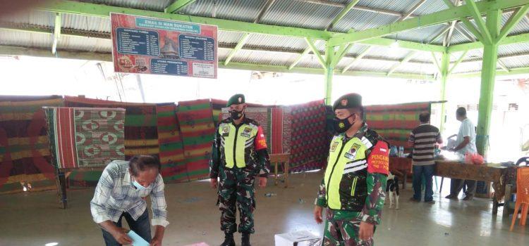 Babinsa Koramil 08/TB Laksanakan Monitoring Pada Pemilihan Anggota BPD Desa Gunung