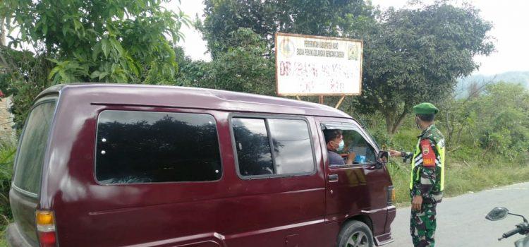 Babinsa Koramil 05/PY Rutin Gelar Patroli Zona Merah Lingkar Gunung Sinabung