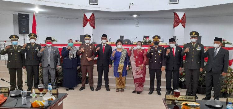 Danramil 03/BT Wakili Dandim 0205/TK Hadiri Peringatan Hut Indonesia