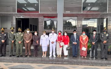 Upacara Pengibaran Bendera Merah Putih di Kabupaten Karo Berjalan Hikmah