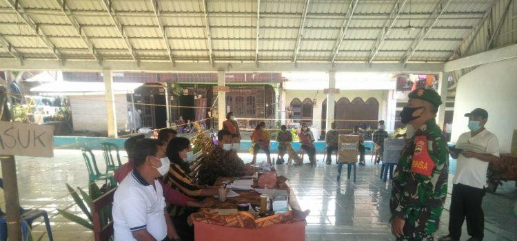 Babinsa Koramil 05/PY Ikuti Acara Pemilihan BPD Desa Siabang abang