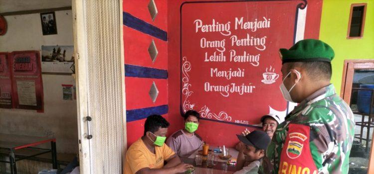 Babinsa Koramil 05/PY Berikan Sosialisasi Prokes Kepada Warga Binaan