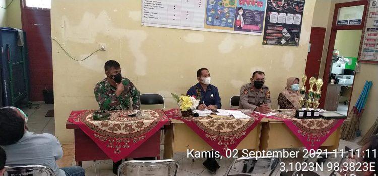 Anggota Koramil 05/PY Hadiri Rapat Penanggulangan Covid19 di Kecamatan Payung