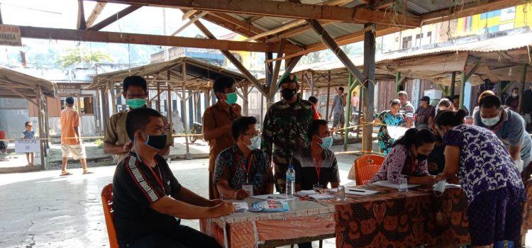 Babinsa Koramil 09/LB Jalankan Pengawasan Pemilihan BPD Desa Lau Baleng