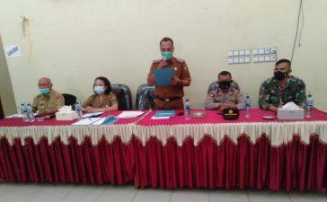 Bati Tuud Koramil 05/PY Hadiri Pelantikan Anggota BPD Desa Bintang Meriah