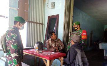 Babinsa Koramil 04/SE Berikan Himbauan Kepada Warga Binaan Untuk Mematuhi Prokes