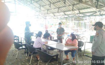 Babinsa Koramil 08/TB Rutin Berikan Himbauan Ketaatan Prokes Kepada Warga Binaan