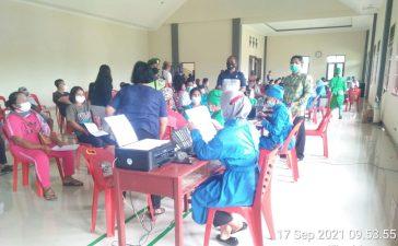 Babinsa Koramil 08/TB Lakukan Pengawasan Vaksinasi Covid19 Kepada Tokoh Agama