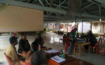 Babinsa Koramil 05/PY Hadiri Acara Pemilihan Anggota BPD Desa Jandi Meriah