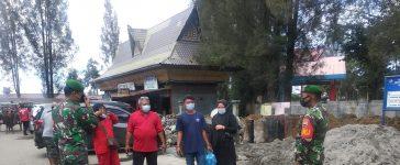 Babinsa Koramil 03/BT Berikan Himbauan Secara Berkala Kepada Warga Binaan