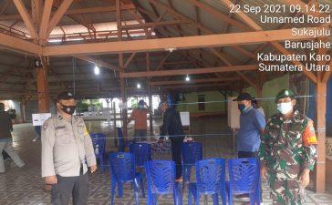 Babinsa Koramil 01/BJ Laksanakan Monitoring dalam Pemilihan BPD Desa Sukajulu Barusjahe