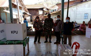 Babinsa Koramil 09/LB Kawal Pemilihan BPD Desa Martelu di Laubaleng