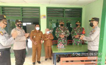 Forkopincam Payung Berikan Kejutan Untuk Koramil 05/PY Dalam Rangka HUT TNI