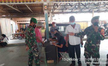 Babinsa Koramil 01/BJ Hadiri Kegiatan Pemilihan BPD Desa Barusjulu
