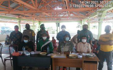Babinsa Koramil 01/BJ Awasi Pemilihan Anggota BPD Desa Tangkidik