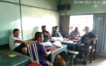 Babinsa Koramil 06/MT Berikan Himbauan Prokes Secara Berkesinambungan Kepada Masyarakat
