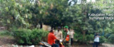 Babinsa Koramil 06/MT Lakukan Patroli Yustisi Kepada Pengguna Jalan di Munte